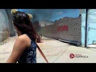 Moto de suspeito de abuso sexual é incendiada em Itapipoca