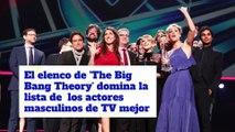El elenco de 'The Big Bang Theory' domina la lista de  los actores masculinos de TV mejor pagados