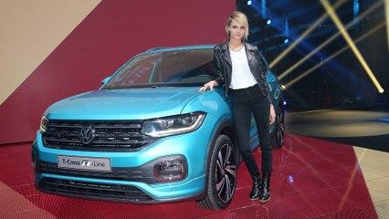 Weltpremiere des VW T-Cross - Volkswagens erstes Kleinwagen SUV