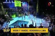 Wisin y Yandel regresan al Perú en con su gira mundial 2019