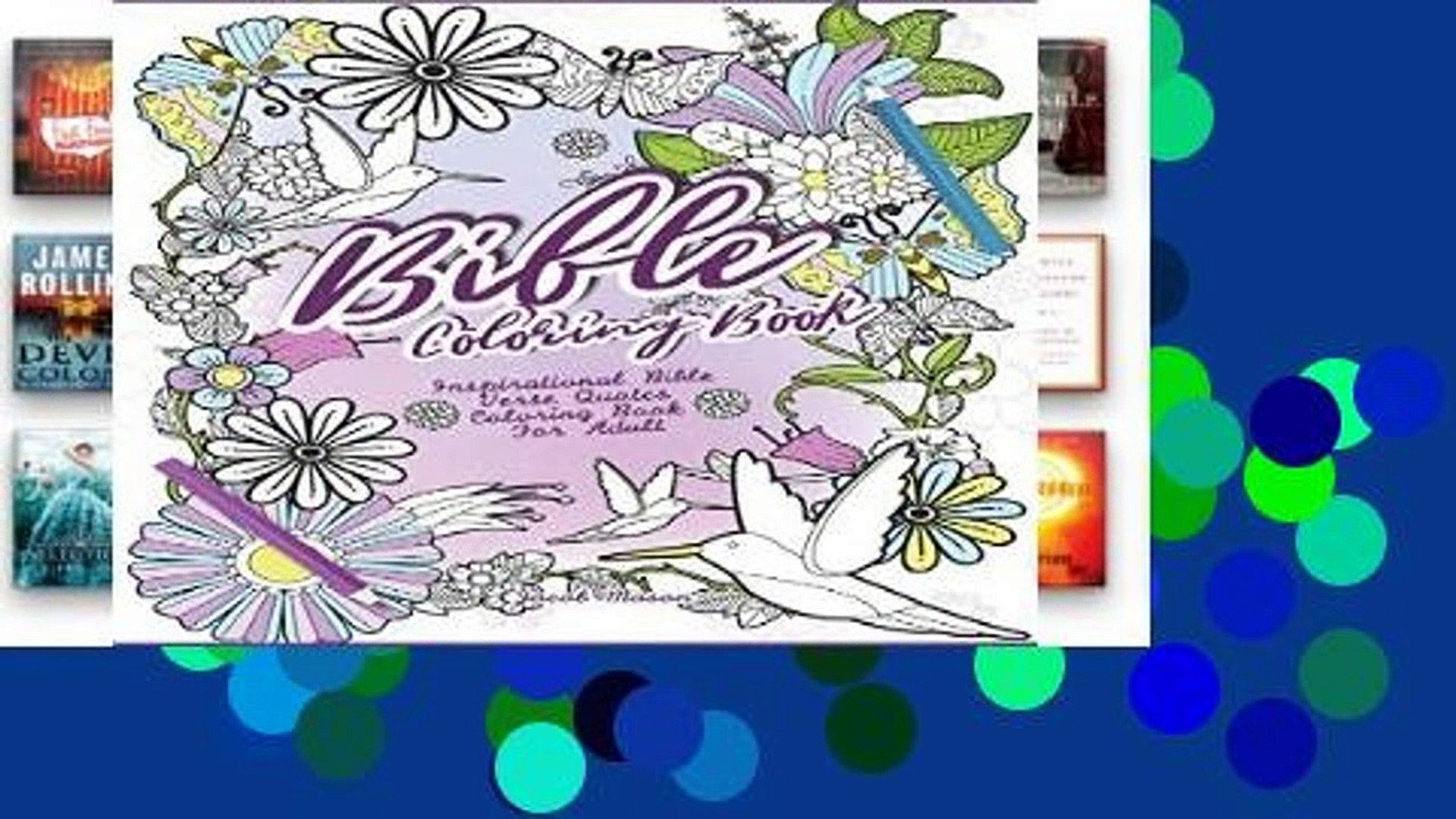 D.O.W.N.L.O.A.D [P.D.F] Bible Coloring Book: Inspirational Bible Verse Quotes Coloring Book For