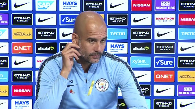 Manchester City look ahead to Monday's EPL match v Tottenham