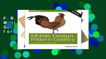 F.R.E.E [D.O.W.N.L.O.A.D] Mobile Design Pattern Gallery: UI Patterns for Smartphone Apps
