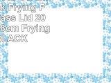 BLACK 5 Piece Ceramic Non Stick Frying Pan With Glass Lid 20cm 24 cm 28cm Frying Pan BLACK
