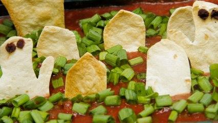 Graveyard Taco Dip