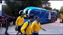 Valladolid - Espanyol: Llegada de los pericos a Pucela