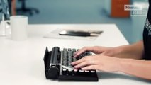 This modern keyboard is a blast from the past - Mashable Deals