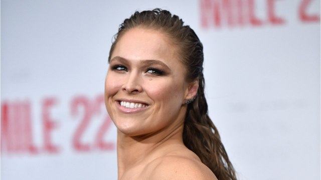 Ronda Rousey Supports Crown Jewels
