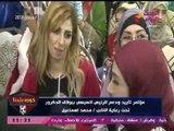 عبد الناصر زيدان يداعب مخرج برنامجه: أنا اقدر اقلب وشي في مؤتمر تأييد الرئيس... انت عبيط يالا!