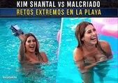 Kim Shantal vs Malcriado retos extremos en la playa. Badabun. Kim Shantal vs Malcriado retos extremos en la playa. Badabun.