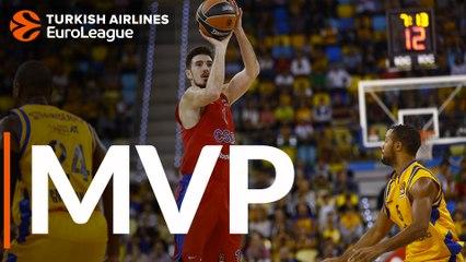 Round 4 MVP: Nando De Colo, CSKA Moscow