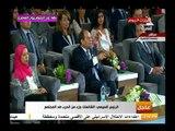 الرئيس السيسي يداعب وزيرة التضامن الدكتورة غادة والي بسبب آل والي: انتو احتليتوا البلد كده