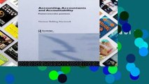 Review  Accounting, Accountants and Accountability (Routledge Studies in Accounting)
