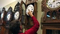 Le musée de l'horlogerie de Saint-Nicolas d'Aliermont passe à l'heure d'hiver