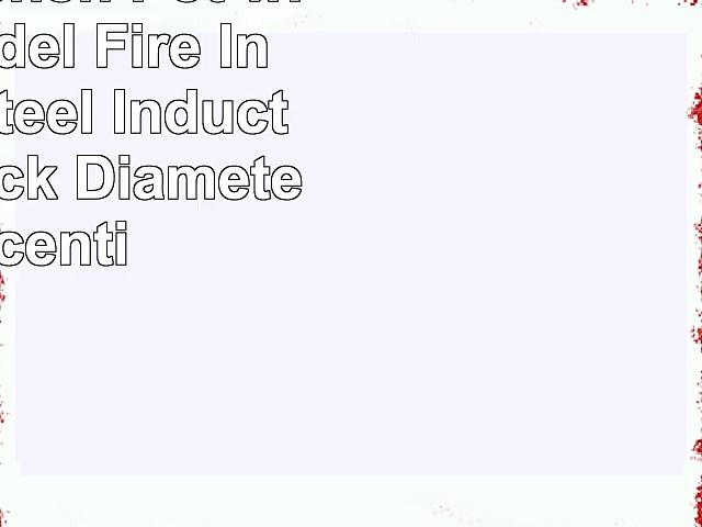 Menax  Kitchen Pot with Lid  Model Fire In Enamel Steel  Induction  NonStick