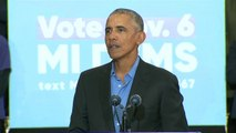 Obama Slams Trump And Republicans: 'They Are Robbing You Blind'