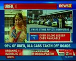 Ola & Uber drivers strike enters day 6, drivers demand higher rates due to fuel hike