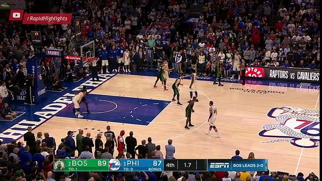 Belinelli ties the Game   Celtics vs Sixers Game 3   May 5, 2018   NBA Playoffs