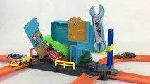 HOT WHEELS CITY Gator Garage Attack Racing Cars Playset    Keith's Toy Box