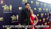 G-Eazy says girlfriend Halsey is 'an inspiration' - video