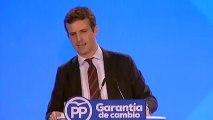 Reivindicamos con orgullo nuestra herencia y lo que hemos hecho por España. Con la legitimidad de la experiencia, cuando lleguemos al Gobierno volvere