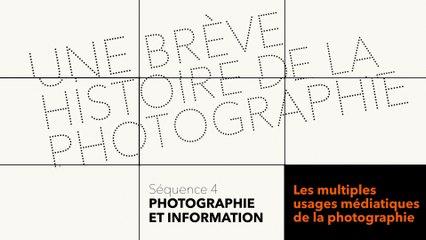 MOOC Une brève histoire de la photographie - Photographie et information - Les multiples usages médiatiques de la photographie