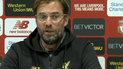 Klopp press conference