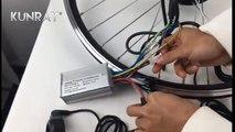 e bike conversion kit 250w 24v 36v 48v mxus motor kit for 20 28 electric bicycle