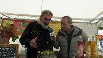 Hautes-Alpes: même la pluie n'a pas empêché le succès du marché aux fruits anciens d'Orpierre