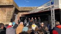 Retour de Tara à Lorient : Norbert Métairie s'adresse au public venu accueillir la goélette