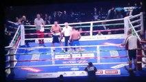 Грузинский боксёр Леван Шония кинулся с кулаками на тренера