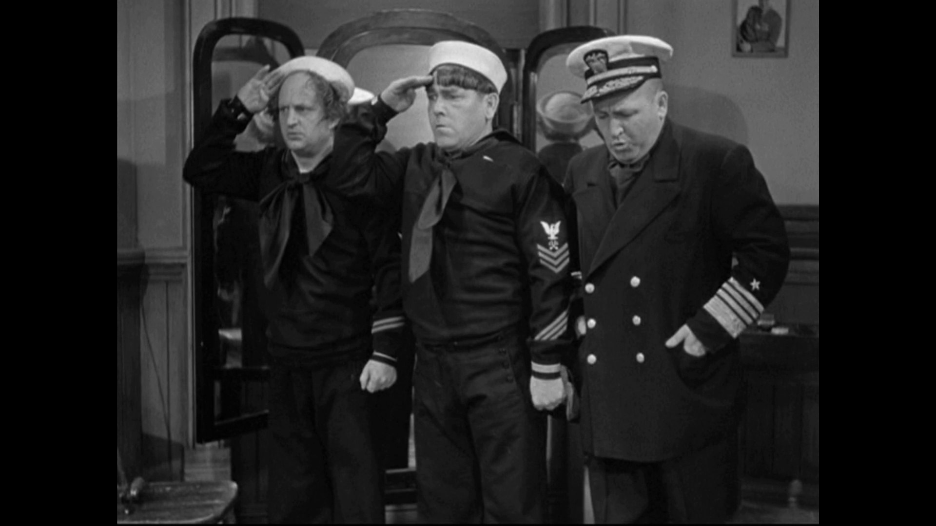 Image result for 036 The Three Stooges: Three Little Sew And Sews (1939)