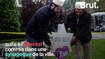 """""""Nous serons là"""" : le responsable du centre islamique de Pittsburgh apporte son soutien à la communauté juive"""