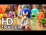 WRECK IT RALPH 2 (FIRST LOOK - Sonic The Hedgehog Trailer NEW) 2018 Animated Movie HD