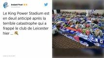 Leicester. L'immense émotion des fans après le crash de l'hélicoptère