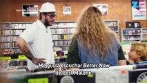Post Malone se hace pasar por vendedor de discos