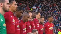 Leicester - L'hommage d'Old Trafford