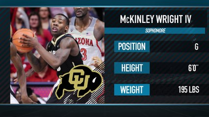 #17 College Basketball Player: Colorado G McKinley Wright IV