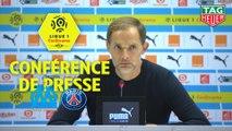 Conférence de presse Olympique de Marseille - Paris Saint-Germain (0-2) : Rudi GARCIA (OM) - Thomas TUCHEL (PARIS) / 2018-19