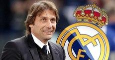 Antonio Conte è il nuovo allenatore Real Madrid