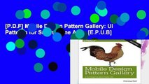 [P.D.F] Mobile Design Pattern Gallery: UI Patterns for Smartphone Apps [E.P.U.B]