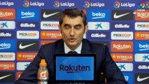 Ernesto Valverde salue la performance de Luis Suarez