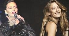 Ebru Gündeş, Şarkısını Yorumlayan Serenay Sarıkaya'ya Övgüler Yağdırdı: Sesine Bayıldım