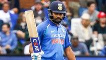India VS West Indies 4th ODI: Rohit Sharma slams 37th ODI Fifty with four | वनइंडिया हिंदी