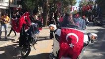 Motosiklet Kulübü Konvoyu 15 Temmuz Şehitler Köprüsü'nden Geçti