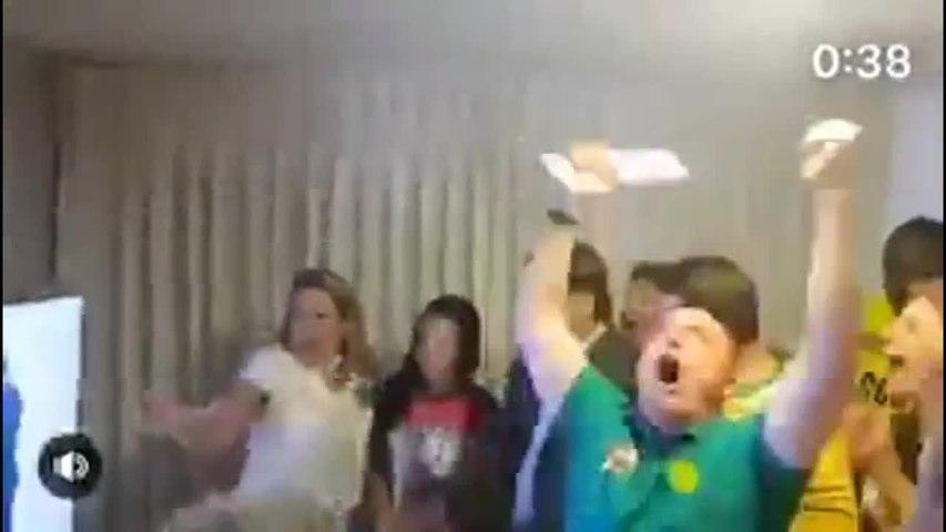 Veja a reação de Jair Bolsonaro ao saber que estava eleito