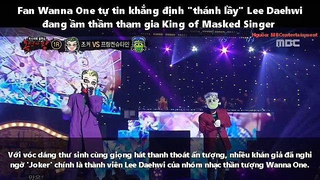 """Fan Wanna One tự tin khẳng định """"thánh lầy"""" Lee Daehwi đang ầm thầm tham gia King of Masked Singer"""