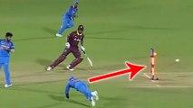 India VS West Indies 4th ODI: Virat Kohli runs out Kieran Powell by Rocket Throw | वनइंडिया हिंदी