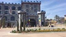 LEGOLAND CASTLE HOTEL California FIRST LOOK Tour Treasure Hunt Combination  || Keith's Toy Box