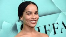 Zoë Kravitz Channels Her Mom For Shoot